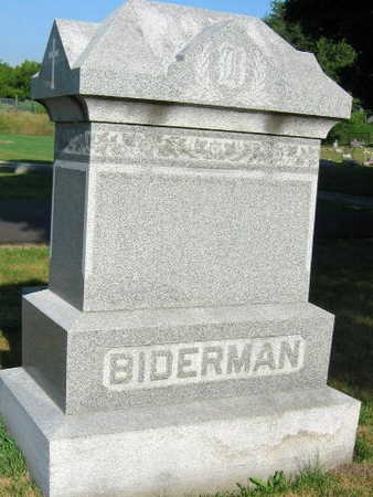 BIDERMAN, FAMILY STONE - Linn County, Iowa | FAMILY STONE BIDERMAN