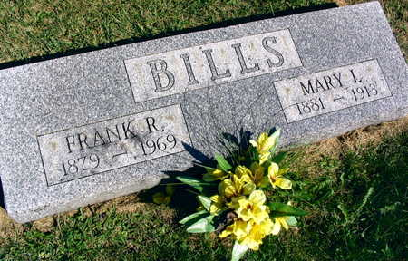 BILLS, FRANK R. - Linn County, Iowa | FRANK R. BILLS