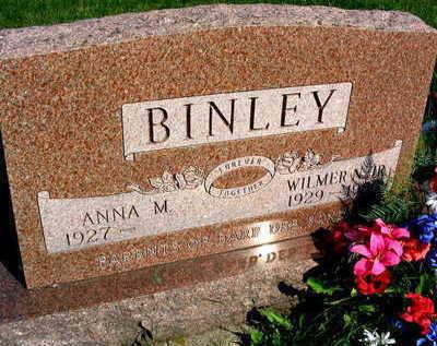 BINLEY, WILMER N. JR. - Linn County, Iowa | WILMER N. JR. BINLEY