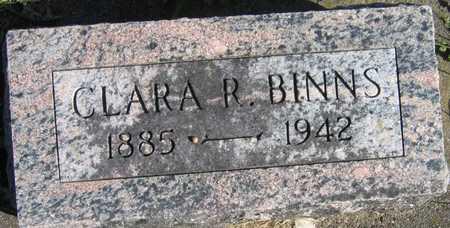 BINNS, CLARA R. - Linn County, Iowa | CLARA R. BINNS