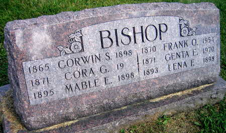 BISHOP, LENA F. - Linn County, Iowa | LENA F. BISHOP