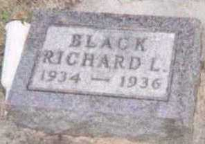 BLACK, RICHARD L. - Linn County, Iowa | RICHARD L. BLACK