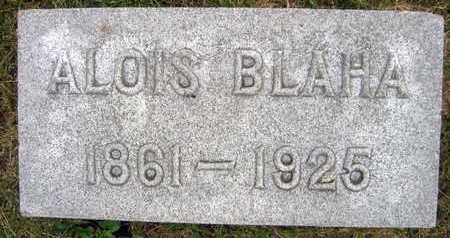 BLAHA, ALOIS - Linn County, Iowa | ALOIS BLAHA