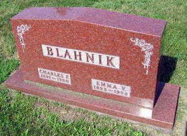 BLAHNIK, EMMA V. - Linn County, Iowa | EMMA V. BLAHNIK