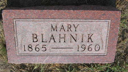 BLAHNIK, MARY - Linn County, Iowa | MARY BLAHNIK