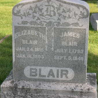 BLAIR, JAMES - Linn County, Iowa | JAMES BLAIR