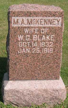 BLAKE, M. A. - Linn County, Iowa | M. A. BLAKE