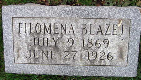 BLAZEJ, FILOMENA - Linn County, Iowa | FILOMENA BLAZEJ