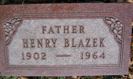 BLAZEK, HENRY - Linn County, Iowa | HENRY BLAZEK
