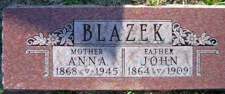 BLAZEK, JOHN - Linn County, Iowa | JOHN BLAZEK