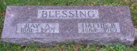 BLESSING, HATTIE B. - Linn County, Iowa | HATTIE B. BLESSING