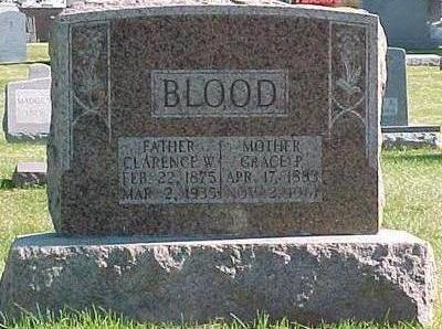 FARNUM BLOOD, GRACE P. - Linn County, Iowa | GRACE P. FARNUM BLOOD