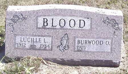 BLOOD, BURWOOD O. - Linn County, Iowa | BURWOOD O. BLOOD