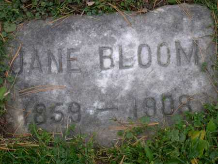 BLOOM, JANE - Linn County, Iowa | JANE BLOOM