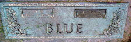BLUE, LEE U. - Linn County, Iowa | LEE U. BLUE