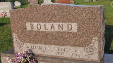 BOLAND, WILLIAM E. - Linn County, Iowa | WILLIAM E. BOLAND