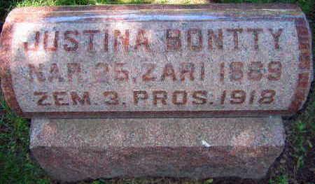 BONTTY, JUSTINA - Linn County, Iowa | JUSTINA BONTTY