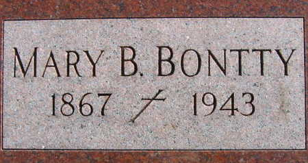 BONTTY, MARY B - Linn County, Iowa | MARY B BONTTY