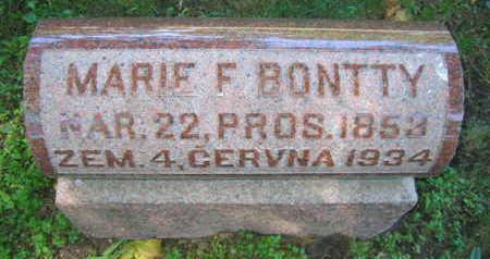 BONTTY, MARIE F. - Linn County, Iowa | MARIE F. BONTTY