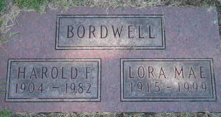 BORDWELL, HAROLD - Linn County, Iowa | HAROLD BORDWELL
