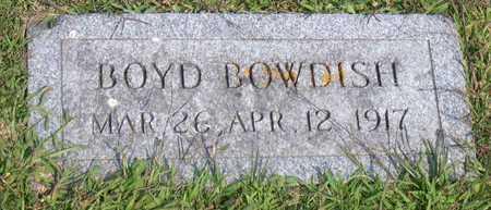 BOWDISH, BOYD - Linn County, Iowa | BOYD BOWDISH