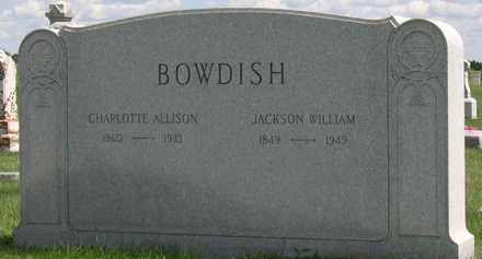 BOWDISH, JACKSON WILLIAM - Linn County, Iowa | JACKSON WILLIAM BOWDISH