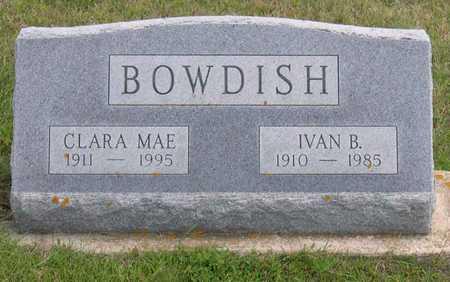 BOWDISH, CLARA MAE - Linn County, Iowa | CLARA MAE BOWDISH