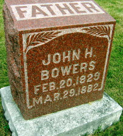 BOWERS, JOHN H. - Linn County, Iowa | JOHN H. BOWERS