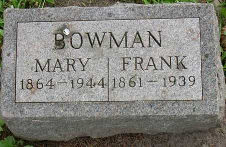 BOWMAN, MARY - Linn County, Iowa | MARY BOWMAN