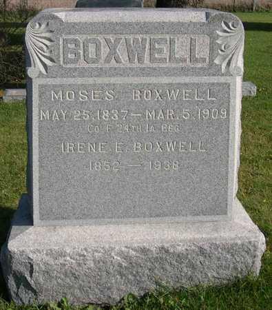 BOXWELL, IRENE E. - Linn County, Iowa | IRENE E. BOXWELL