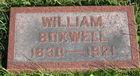 BOXWELL, WILLIAM - Linn County, Iowa | WILLIAM BOXWELL