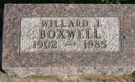 BOXWELL, WILLARD J. - Linn County, Iowa | WILLARD J. BOXWELL