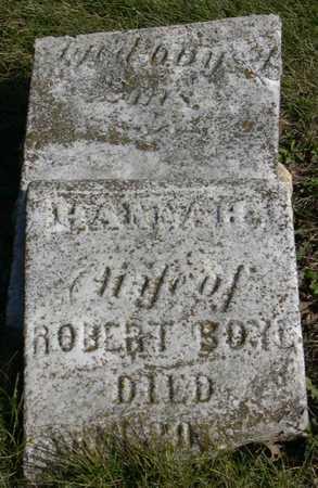 BOYD, HANNAH - Linn County, Iowa | HANNAH BOYD