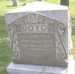 BOYD, J. C. - Linn County, Iowa | J. C. BOYD