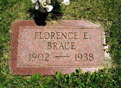 BRACE, FLORENCE E. - Linn County, Iowa | FLORENCE E. BRACE