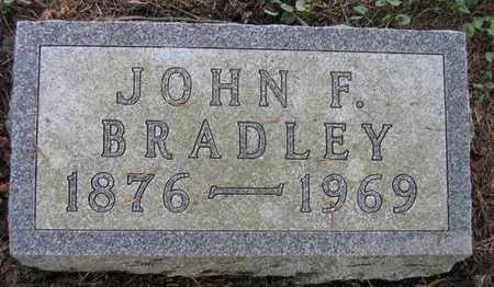 BRADLEY, JOHN F. - Linn County, Iowa | JOHN F. BRADLEY
