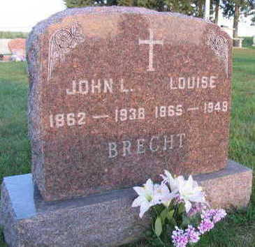 BRECHT, LOUISE - Linn County, Iowa | LOUISE BRECHT