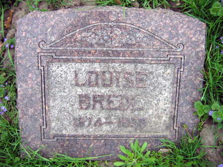 BREDL, LOUISE - Linn County, Iowa | LOUISE BREDL