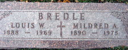 BREDLE, LOUIS W. - Linn County, Iowa | LOUIS W. BREDLE