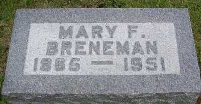 BRENEMAN, MARY F. - Linn County, Iowa | MARY F. BRENEMAN