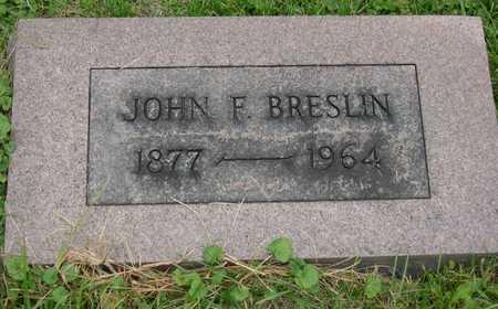 BRESLIN, JOHN F. - Linn County, Iowa | JOHN F. BRESLIN