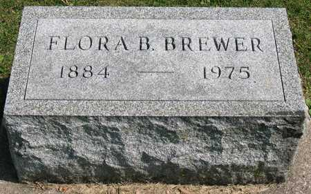 BREWER, FLORA B. - Linn County, Iowa | FLORA B. BREWER