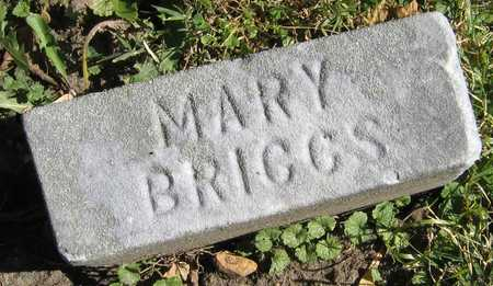 BRIGGS, MARY - Linn County, Iowa | MARY BRIGGS