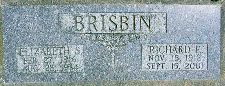 BRISBIN, RICHARD F. - Linn County, Iowa | RICHARD F. BRISBIN