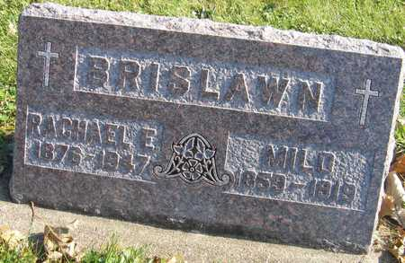BRISLAWN, MILO - Linn County, Iowa | MILO BRISLAWN