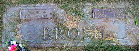 BROSH, FRANK A. - Linn County, Iowa | FRANK A. BROSH