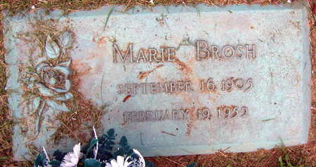 BROSH, MARIE - Linn County, Iowa | MARIE BROSH