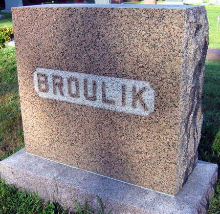 BROULIK, FAMILY STONE - Linn County, Iowa | FAMILY STONE BROULIK