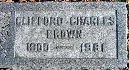 BROWN, CLIFFORD CHARLES - Linn County, Iowa | CLIFFORD CHARLES BROWN