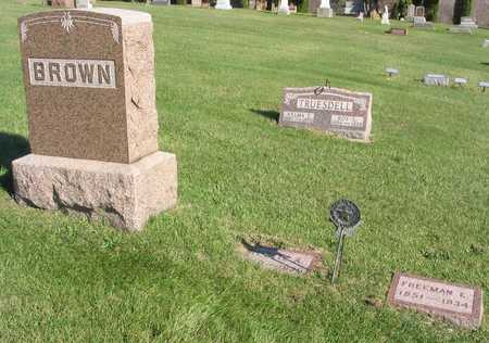 BROWN, FAMILY STONE - Linn County, Iowa | FAMILY STONE BROWN